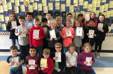 Paws-itive Behavior Awards 1/13-1/17