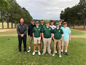 Golf Team Takes 2nd Place in Conference