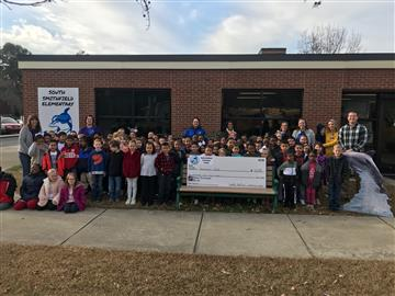 South Smithfield Elementary Holds Money War