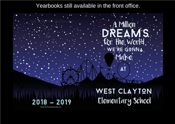 2018-2019 Yearbooks Still Available