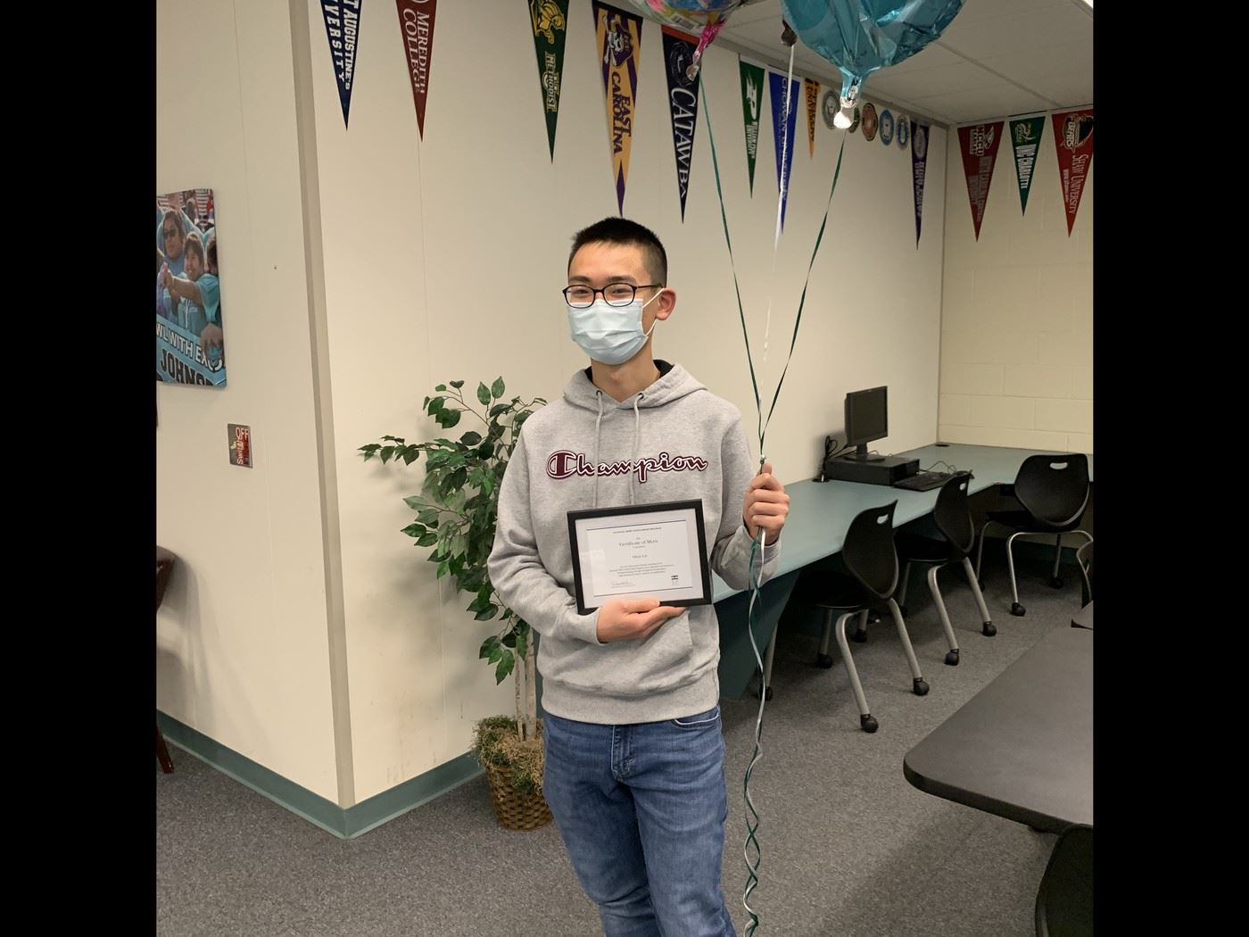 Oscar Liu is named a 2021 National Merit Scholarship Finalist
