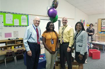 West Smithfield Elementary Instructional Assistant Named JCPS Employee of the Month
