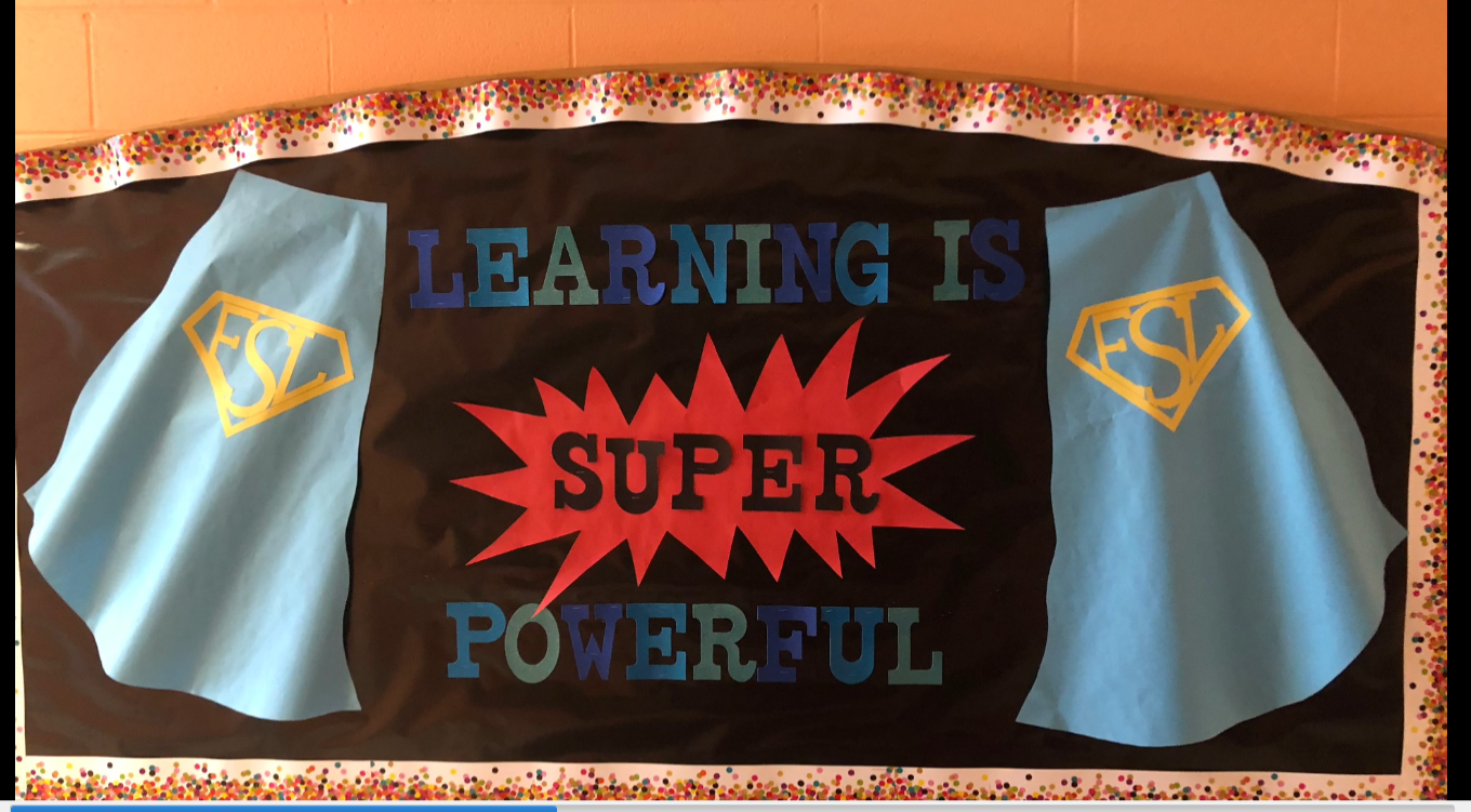 Check out our SuperHero Bulletin Boards
