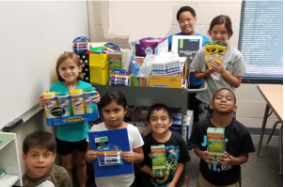 Wilson's Mills Alumni Association Donates School Supplies