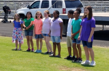 Musical Mustangs Perform at SSStrong Day