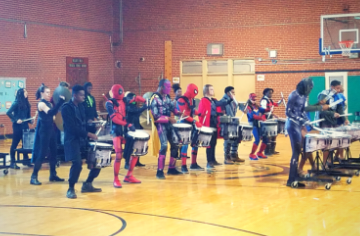 SSS Band Visits Wilson's Mills Elementary