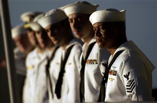 Image of US Navy sailors