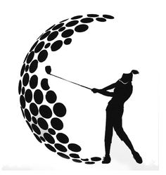 Women's Golf Swing Image