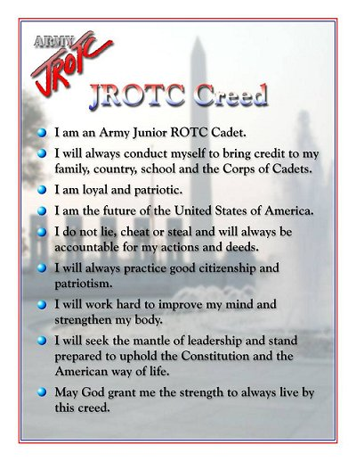 OUR CREED