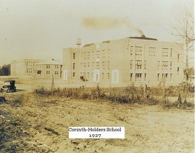 Corinth-Holders School 1927