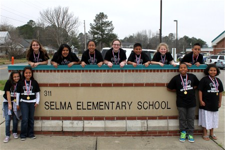 Selma Elementary battle of the books champions 20