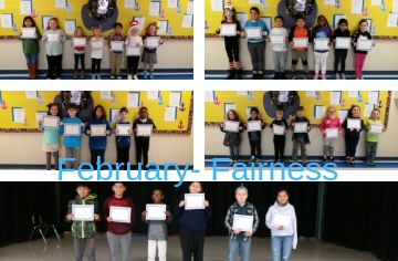 Character Kids for the Month of February - Fairness