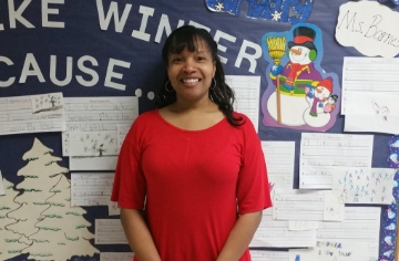BES' First Year Teacher of the Year!!!  Congratulations to our Kindergarten Teacher, Mrs. Cristal At