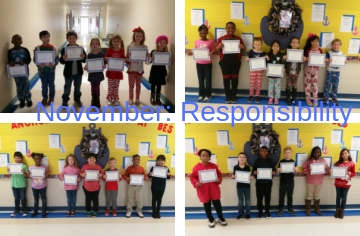 Character Kids for the Month of November