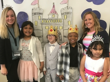 Our 2nd graders were True Ladies and Gentlemen at the Fairy Tale Ball.