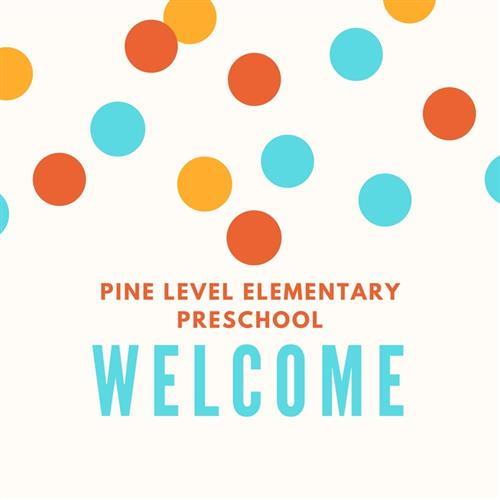 Pine Level Elementary Preschool, WELCOME
