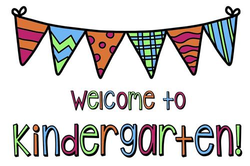 Welcome to Kindergarten!